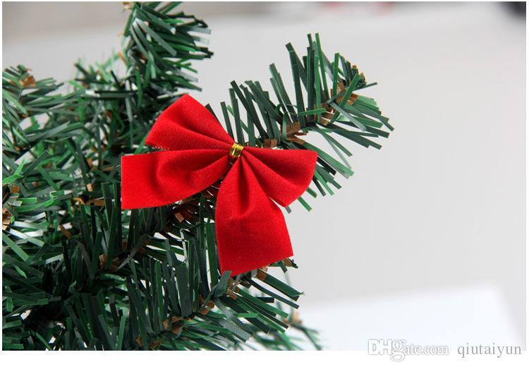 Sell well christmas tree decorations ornament bowknot red