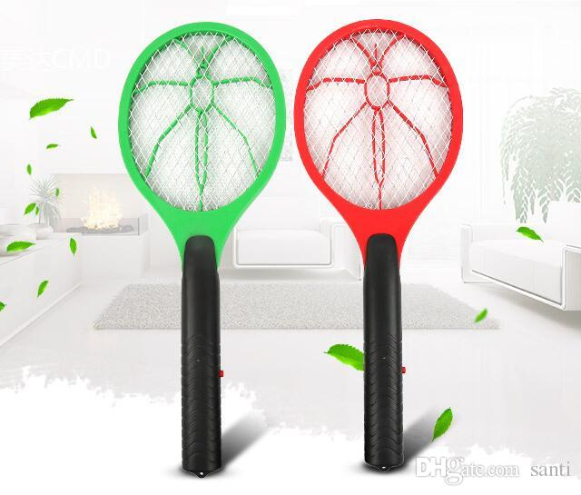 Pest Control Handheld Mosquito Killer Fly Swatter Electric Pest Reject Mosquito Repellent Bug Bat Insect Killer For Camping Home & Garden