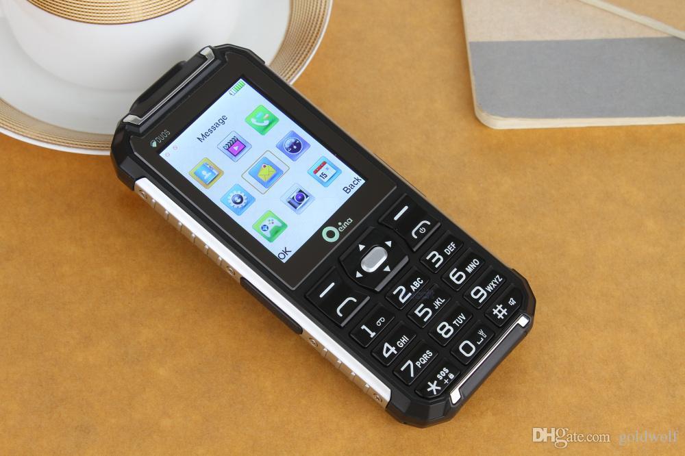Oeina XP6000 Power Bank Phone Quad Band Unlocked Phone 2.4 inch Dustproof Shockproof Bluetooth Flash Light 01