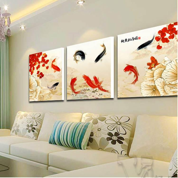 Background Study Mural Painting The Living Room Decorative Modern