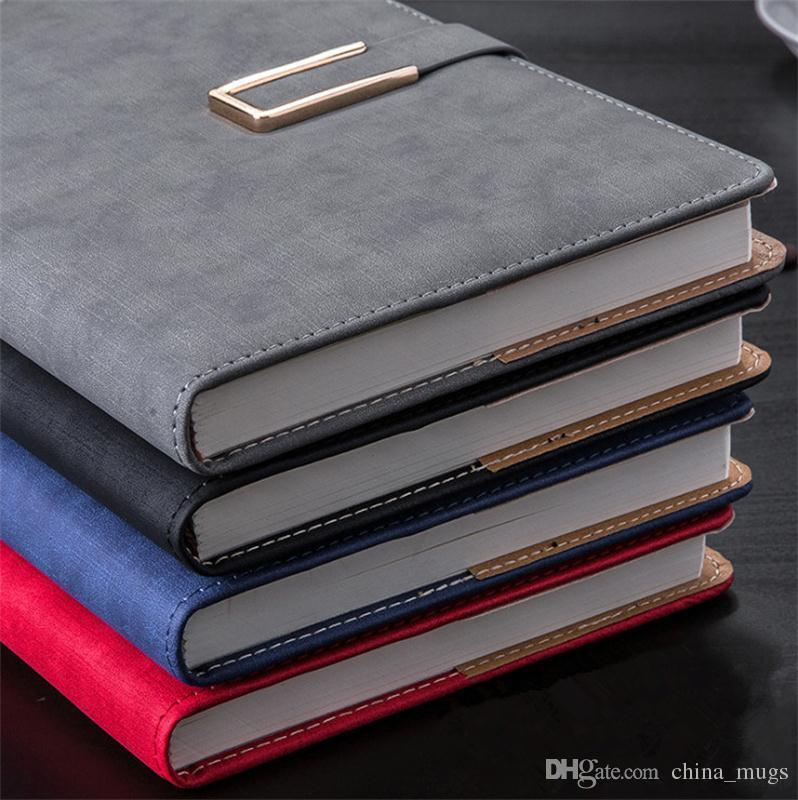 2017 горячая ноутбук бумага 256 листов кожаный дневник журнал спираль крафт ноутбук блокнот офис школьные принадлежности подарок записная книжка