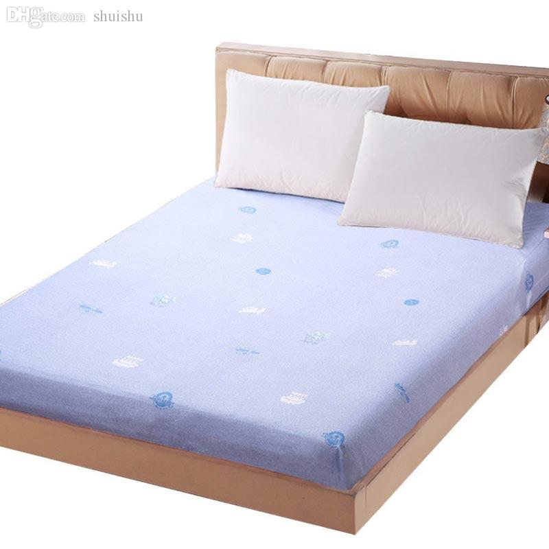 2018 Wholesale Eskimo Fitted Sheet Double Bed Bedspreads Flat Blanking Shop  Microfiber Bed Box Sheet Semi Mite Washable Twin Queen King Size From  Shuishu, ...