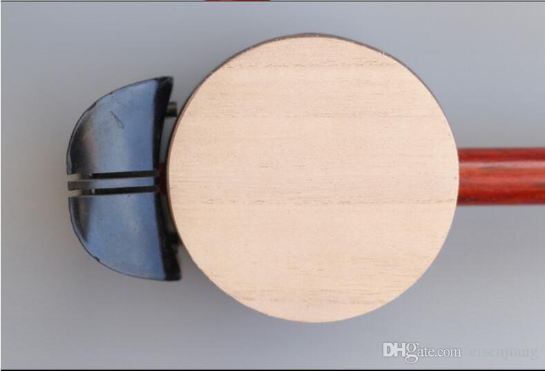 Tipo universal tablero de madera banhu madera dura cobre instrumento musical principiante instrumento musical