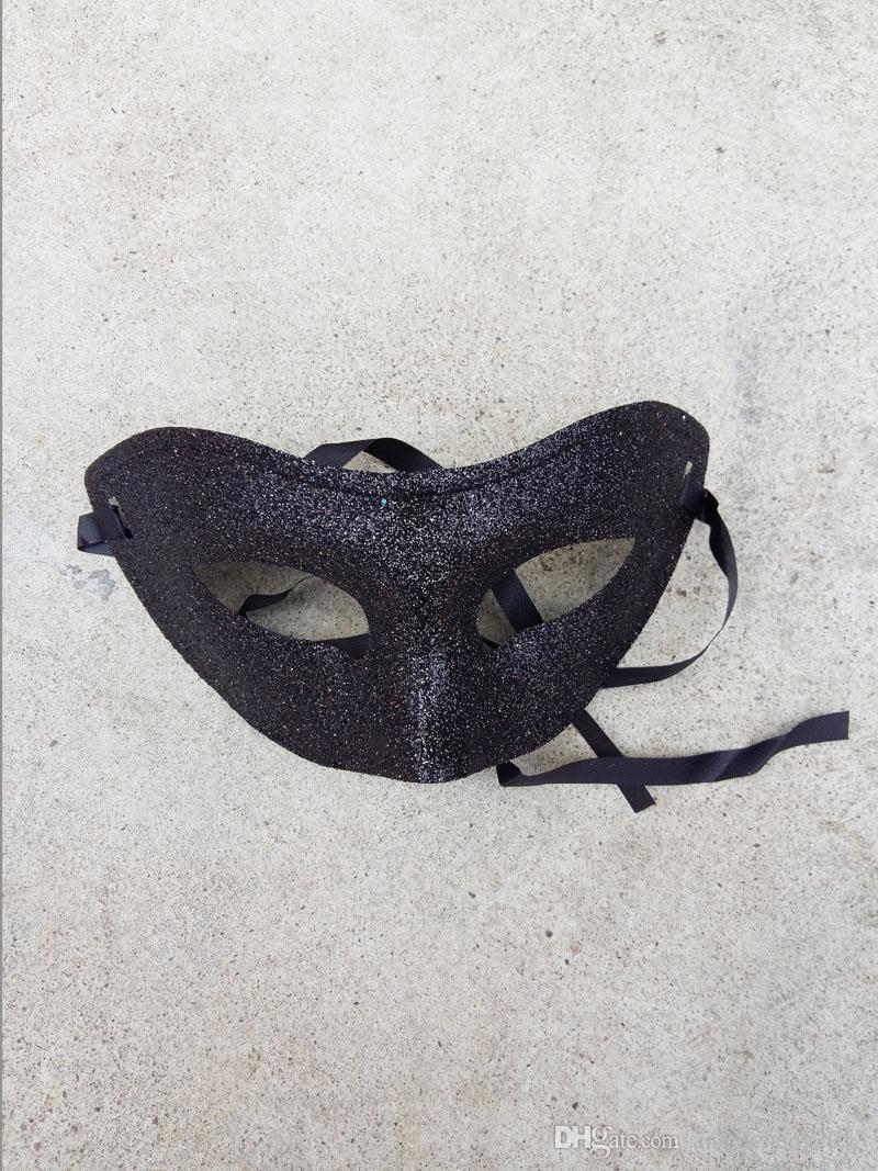 High Quality Mask Venetian Party Mask Unisex Sparkle Masquerade Venetian Halloween Mask Glitter Mardi Gras Costume