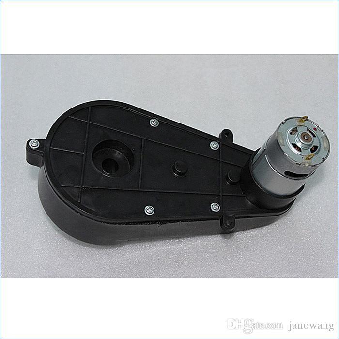 Caixa de engrenagens do motor universal DC12V, motor elétrico para o carro, motores elétricos da criança pequena para brinquedos, J14433 / 4