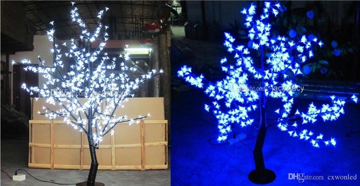 M height blossom christmas tree light ip waterproof garden