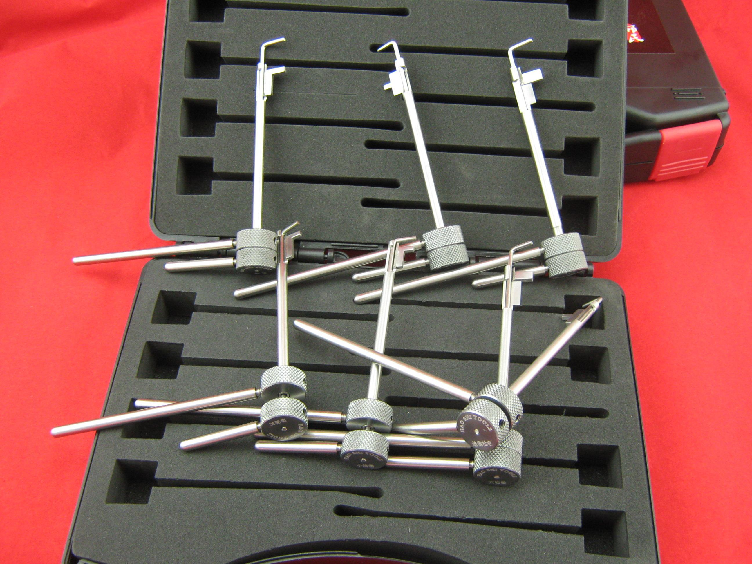 fabbro della generazione 5 il blocco del pennone Diebold, strumenti di picklock sicuro della tigre serratura selezionano gli attrezzi della serratura il fabbro