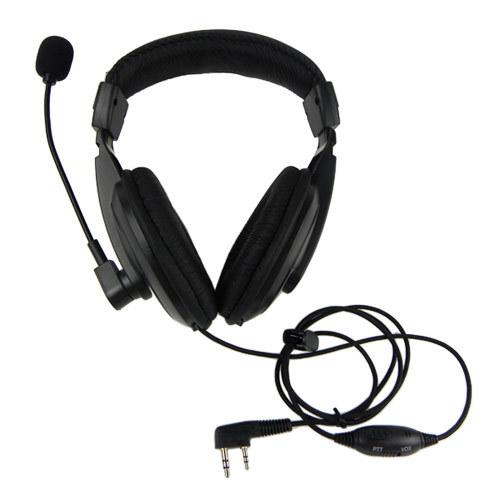 VOX Headset Earpiece For KENWOOD WOUXUN QANSHENG PUXING BFUV5R H555 TYT Radio walkie talkie NEW C0134A Alishow