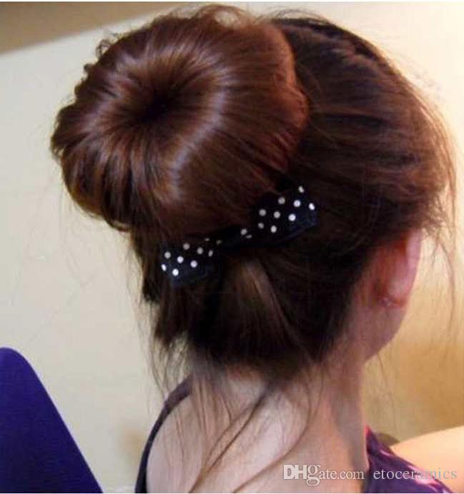 Cheveux Clip de style Bâton Créateur de tresses Outil de tresse Accessoires pour cheveux Mode Noir Marron