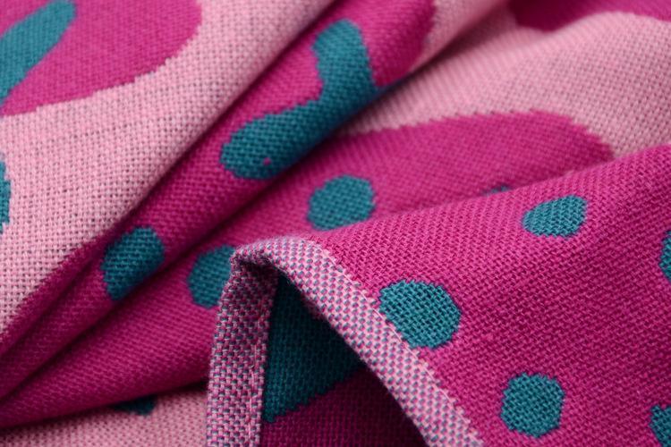 piazza asciugamano fragola corda asciugamani scuola materna mano gancio del cotone del bambino towelcloth pulito garza 3 strati /