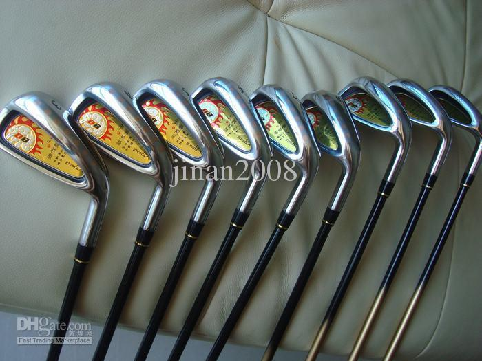 palos de golf Grend D8 Irons establece 3456789PS grafito eje de flexión regular 9PCS Grenda Golf hierros de la mano derecha