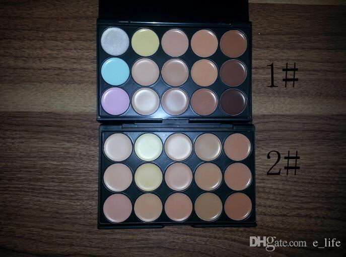 2020 Salón de Cosmética / Fiesta es más nuevos camuflaje paleta de crema de la cara de maquillaje corrector Paleta Set de Maquillaje herramientas gratuitas DHL