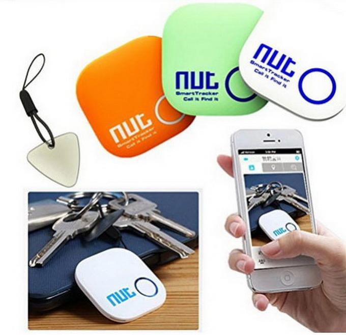 2015 Noel Hediye Yeni Somun 2 Akıllı Etiket Bluetooth Izci Çocuk Pet Anahtar Bulucu Alarm GPS Bulucu Bırak Ücretsiz Shiping