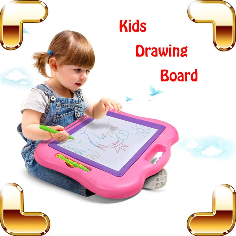 2018 new arrival gift baby magnet drawing board large paint learning