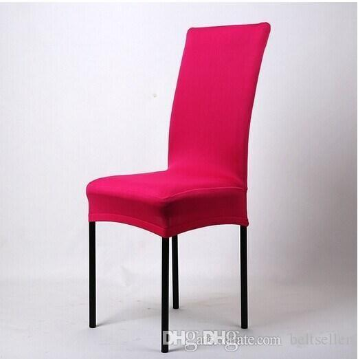 Universal High Stretch Spandex Chair Cover Lycra for Wedding Banquet Hotel Bar Home and Party Supplies Available