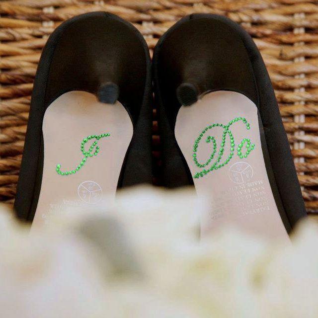 Custom Made Wedding Shoe Stickers Sole Bottom Sticker Bridal Accessories I Do Me Too Help Clear Rhinestone Pakistani Shoes Pale