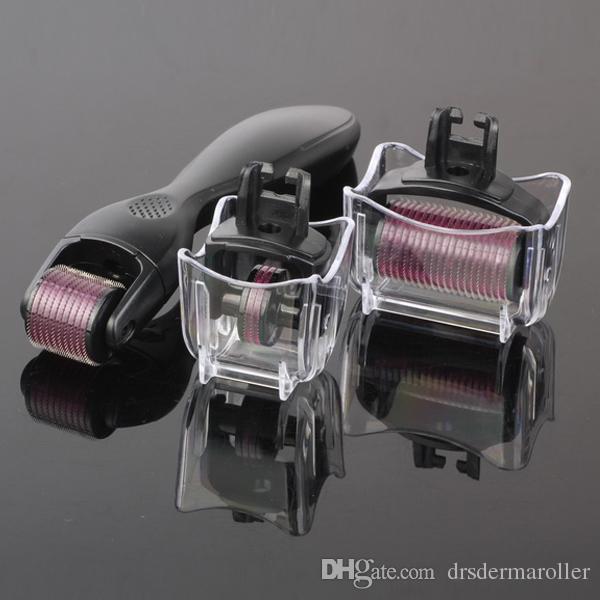 180/600/1200 Nadeln Derma Roller Kit Mikronadel-Therapie Derma Rejuvenate Needle Roller für Gesichtsmassage