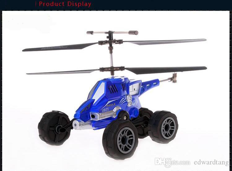 Remote Control Aircraft, Helicopter Model, Air Land Vehicle with missile for Children Gifts, Collecting
