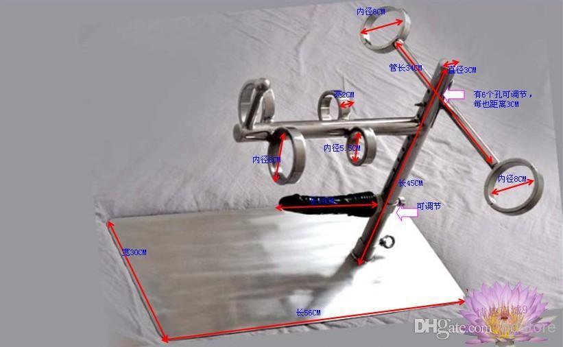 Metal bondage device