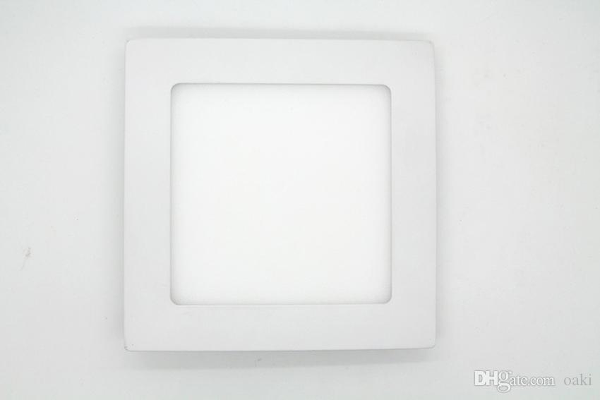 9W LED Downlight LED Panel Down Light Square 145x145mm Epistar Chip 100-110LM/W 3 Years Warranty Manufacturer Supply