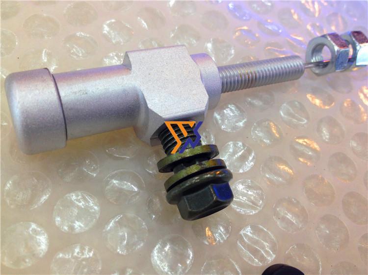 Motosiklet modifiye hidrolik fren hidrolik debriyaj hidrolik sistem için ücretsiz kombinasyonu değiştirmek için verimli transfer kablosu