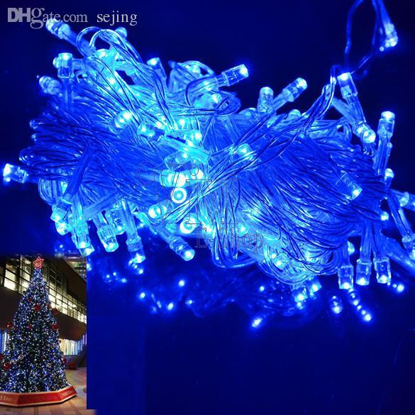 Wholesale 10m 100 Led String Blue Christmas Decoration Outdoor Party