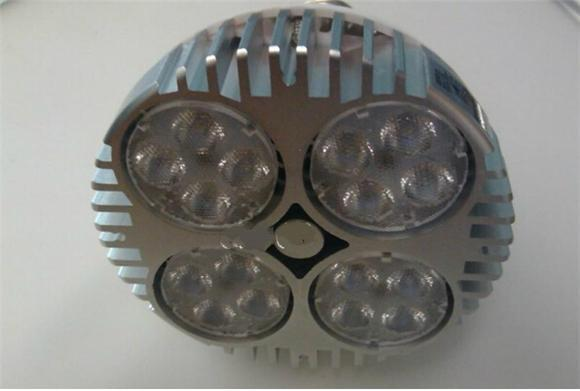 Faretto a LED PAR30 40W 50W Faretto a LED Par 30 20 lampadina a led con ventola negozio di abbigliamento gioielleria galleria binario illuminazione museo illuminazione