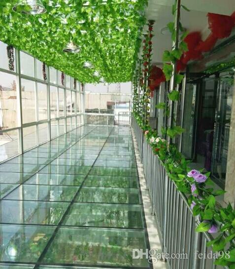 2.5M foglie d'uva artificiali piante di vite foglie di vite rattan