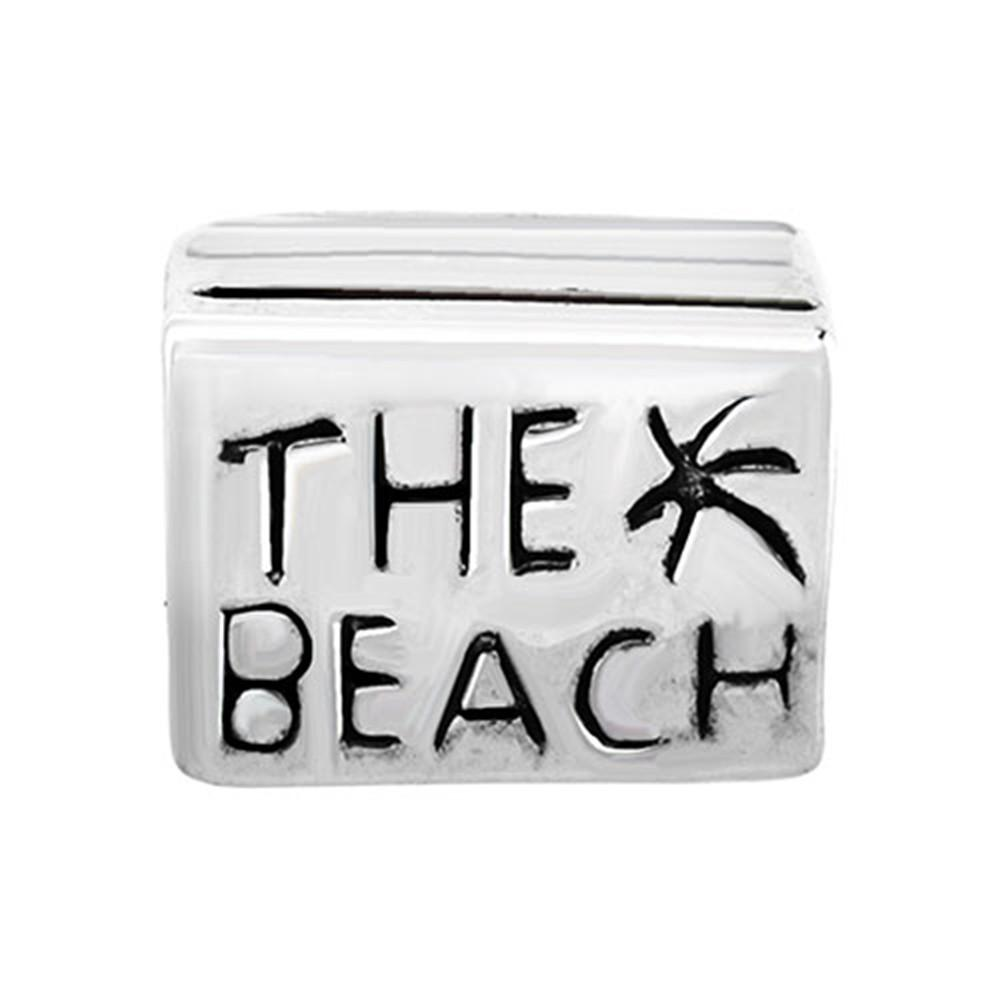 The Beach Lucky European Charm Spacer Metal Bead Wholesale Large