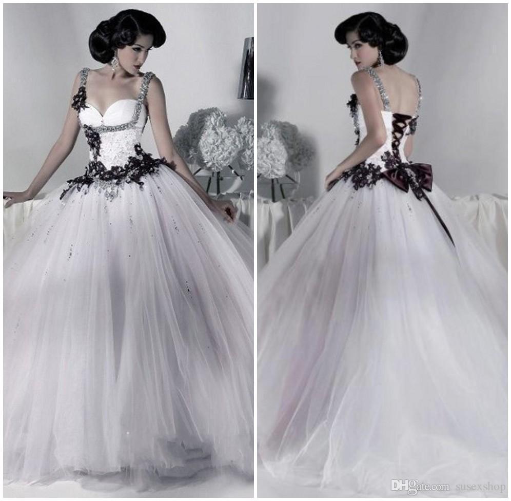 Dress Black Wedding Dresses 2016 Wedding Dresses Gothic