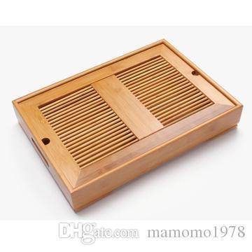 A3888 Бамбуковый чайный поднос, кунг-фу, чайный набор, бамбуковый поднос, содержащий воду для хранения типа, офиса из массива дерева teaboard, чайный столик три размера
