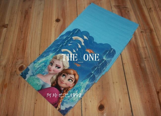 Birthday Greeting Cards With Envelope Hristmas Frozen Party