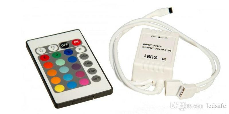 Usb Rgb Controller 5 V 12 V 24 Schlüssel Ir-fernbedienung Führte Dimmer Für 5 V Rgb Led Usb Streifen Licht Band Lampe Rgb-controller Beleuchtung Zubehör