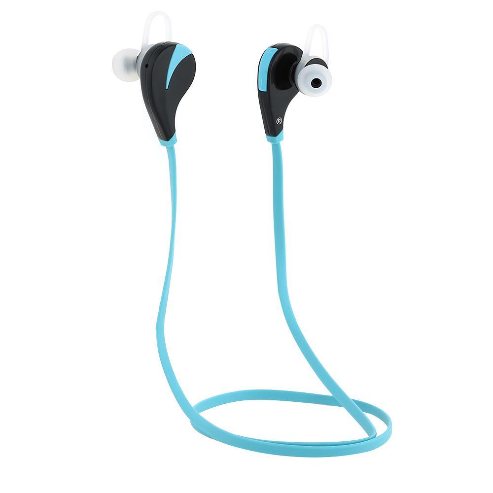 Andoer G6 Neck-strap anti-transpiration casque sans fil stéréo Bluetooth 4.0 + EDR écouteurs avec micro pour téléphones intelligents Tablet PC