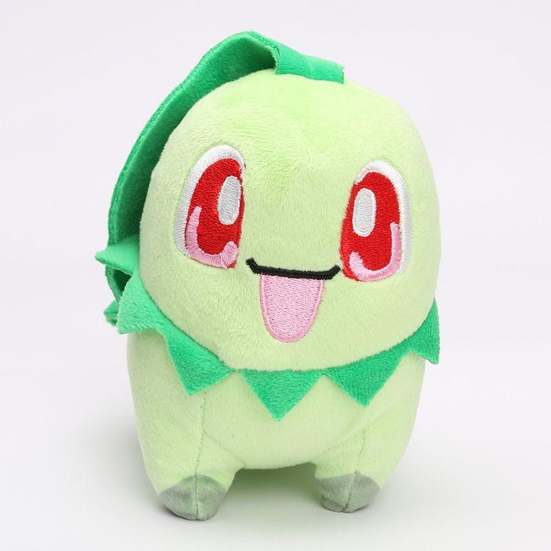 New arrival 100% Cotton 13cm-15cm Lapras Chikorita Squirtle Raichu Pikachu Plush Doll Stuffed Toys For Child Best Gifts