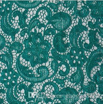 Nuovi materiali solubile in acqua 3D pizzo africano Venezia 2019 tessuto di alta qualità da sposa abito da sera abito gonna da tavola tovaglia arabo