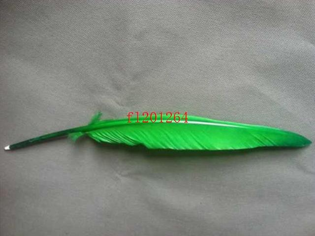 / le plus récent style rétro plume plume plume stylos oie stylos à bille à bille pour bureau collecte cadeau de mariage, /