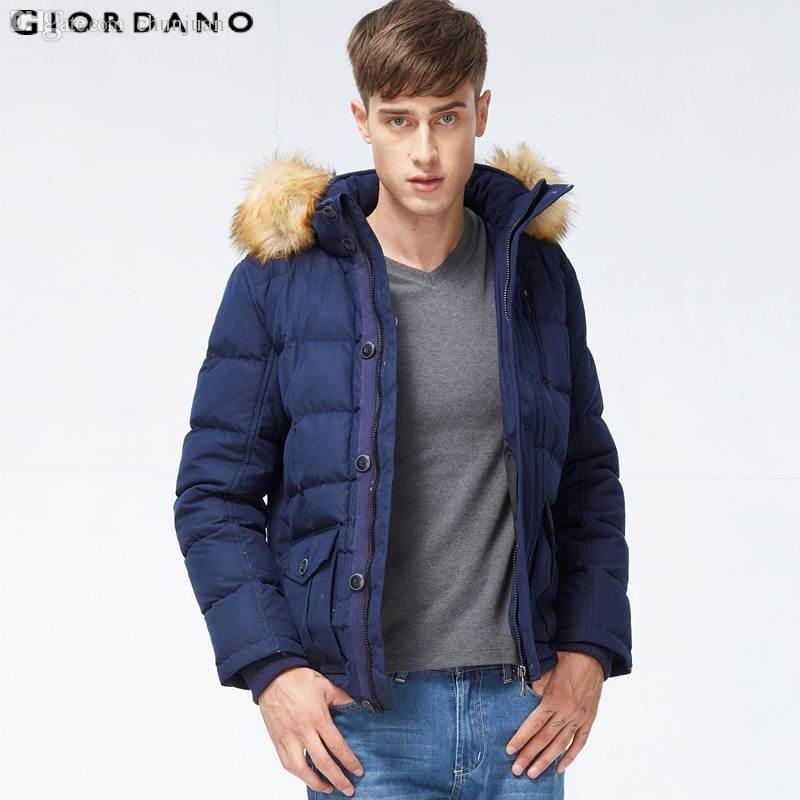 2017 Fall Giordano Men Down Jacket 2015 New Winter Warm Mens Coat ...