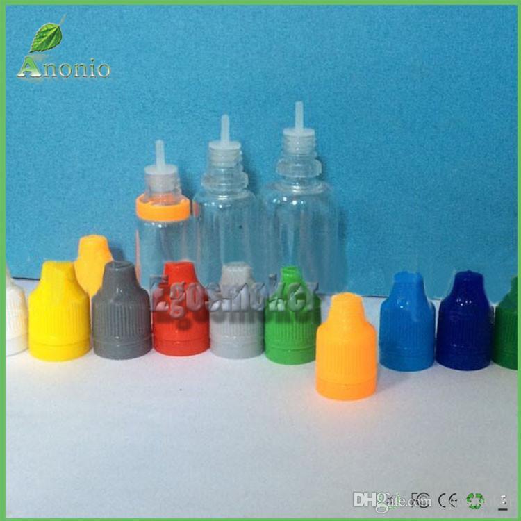 5 ملليلتر 10 ملليلتر 15 ملليلتر 20 ملليلتر 30 ملليلتر 50 ملليلتر الطفل برهان زجاجة قطارة البلاستيك، العبث واضح كاب زجاجة واضحة ه السائل زجاجة لسجارة إلكترونية زجاجة فارغة