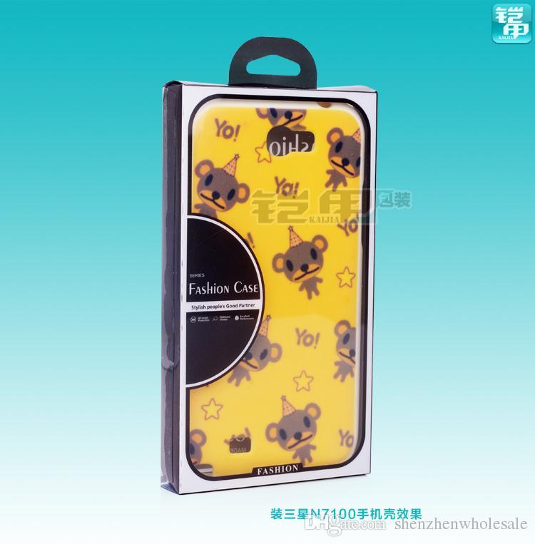 الأزياء نفطة التعبئة والتغليف البلاستيكية التجزئة مربع / حزمة لحالة الهاتف المحمول ، للهاتف الخليوي الذكية مذكرة الهاتف 3 S5 ، /