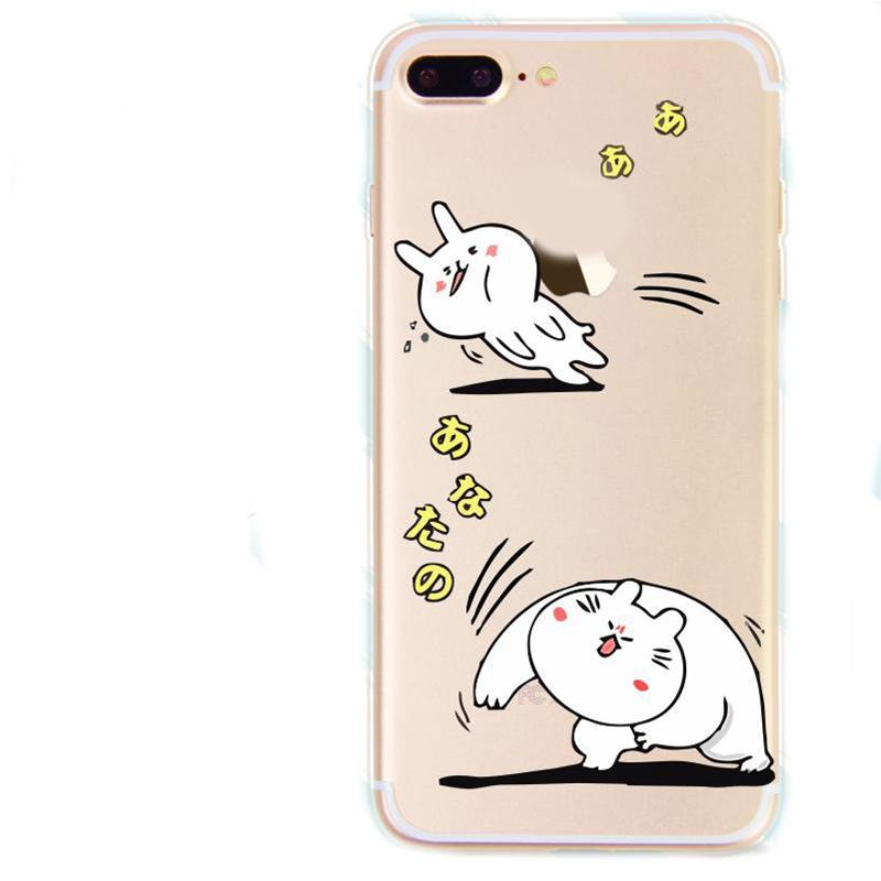 For iPhone 8/ 8 plus Flexible Clear TPU Cell Phone Case with Creative Non-Faded Image for iPhone X / 7 / 7 Plus/ 6/ 5