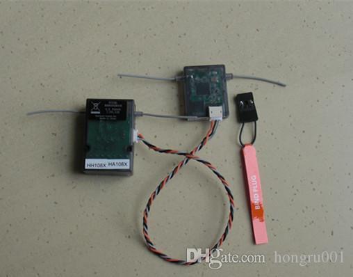 AR6210 DSM-X приемник 2.4 ГГц 6ch DSM-X приемник со спутником