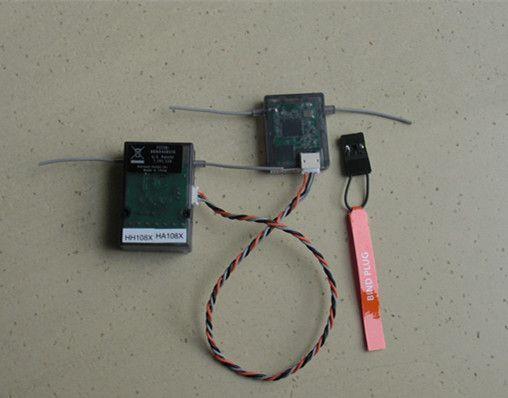 AR6210 DSM-X Empfänger 2.4Ghz 6CH DSM-X Empfänger mit Satellit