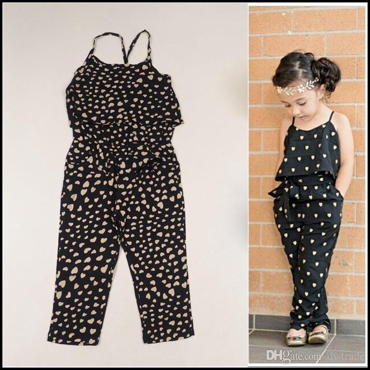 f45e256588 2015 Girls Summer Cute Bib Pants Suitable for 2-7Y Kids Fashion ...