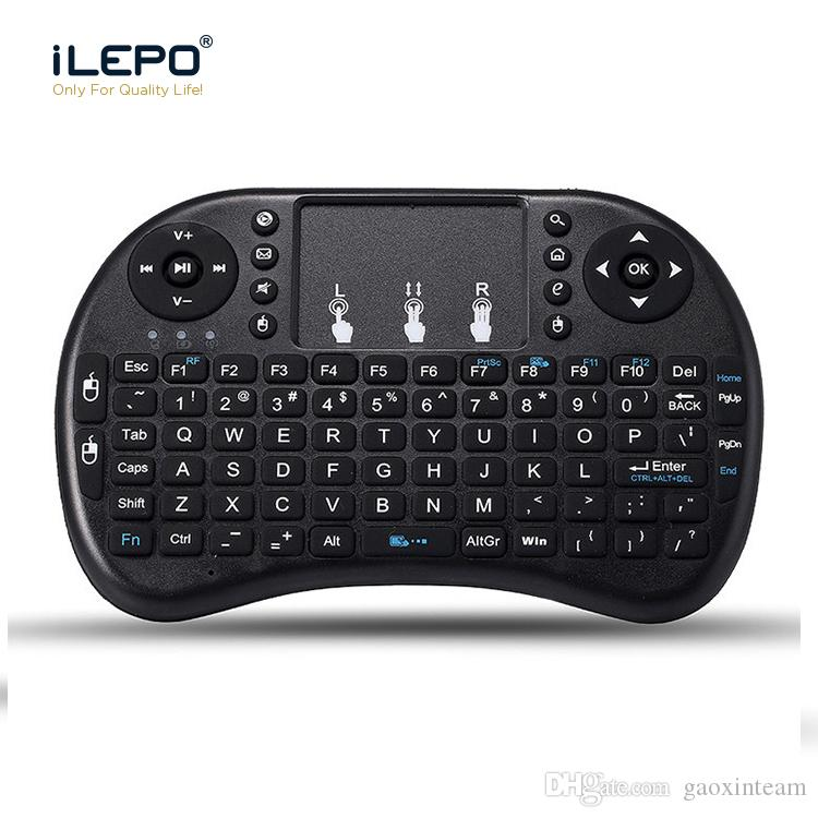845d513b85f Mini Rii I8 Wireless Keyboard Fly Air Mouse Remote Backlight 2.4GHz  Wireless Air Mouse Keyboard Remote Control Touchpad For Android Box  Universal Remote ...