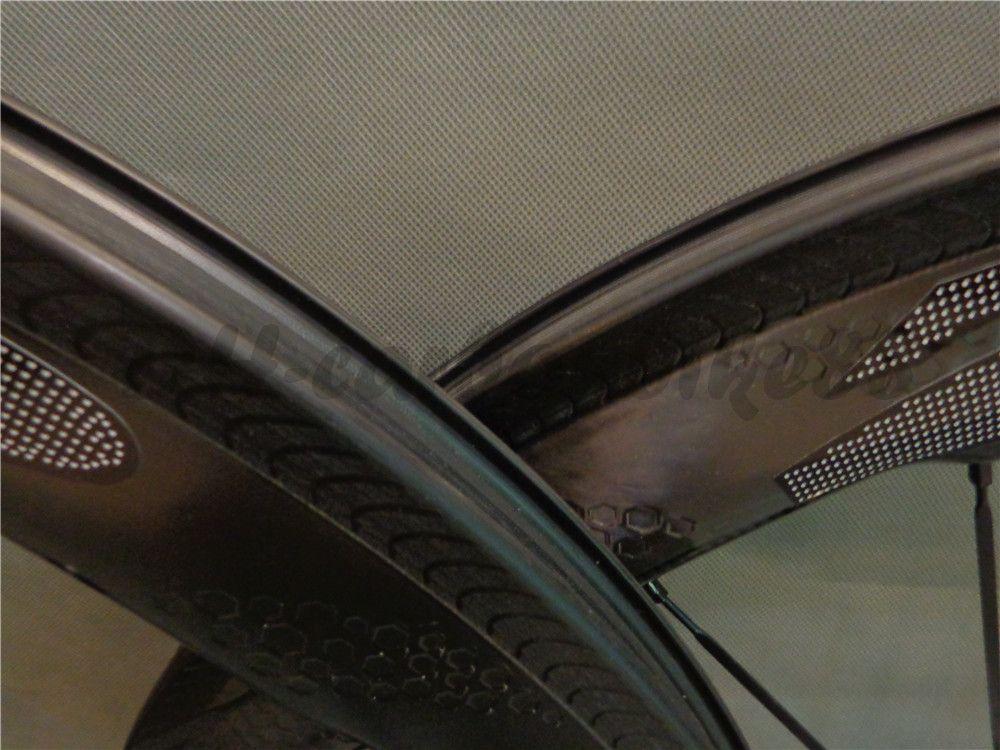 25*60mm the newest clincher hot brand carbon fiber road bike wheel matt finish 23mm width bicycle wheesets 271/R13/R36 hub