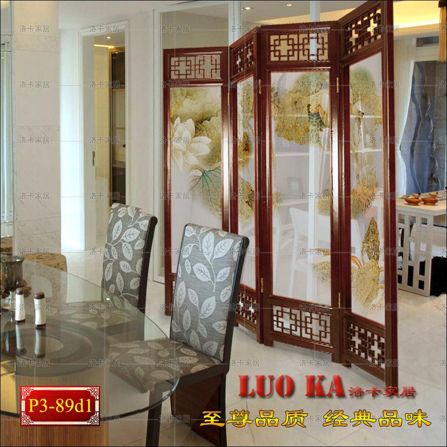 2018 Simple Luxury Feng Shui Chinese Folding Screen Seat Screen View