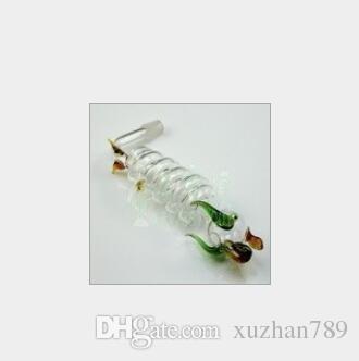 Accesorios de tubería de agua de envío gratis accesorios de tubería de agua de vidrio 5 bandas y olla larga 20 / lote