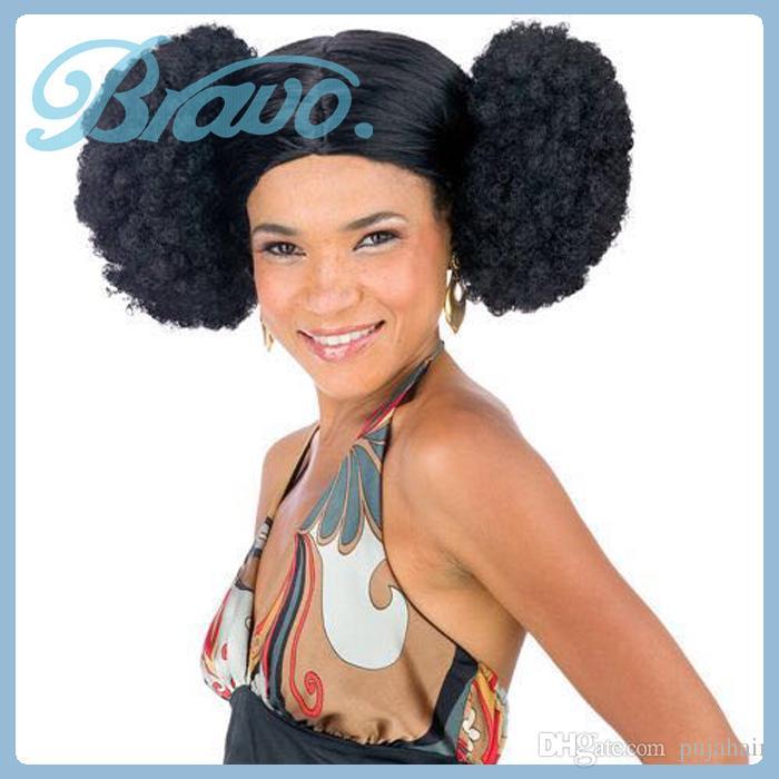 Black drawstring curly afro ponytail hairpieces afro kinky see larger image pmusecretfo Images