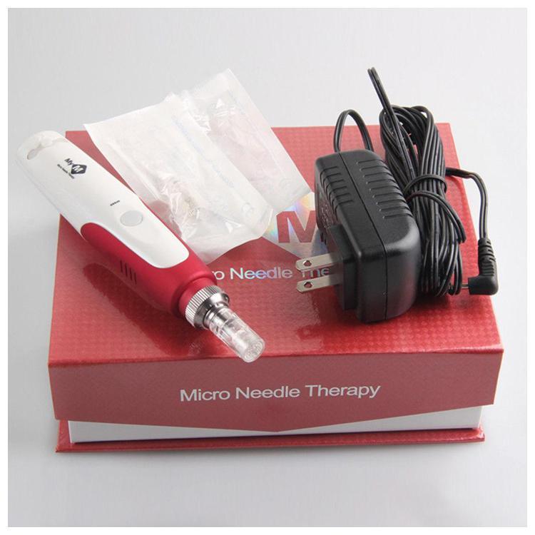 Elektrik Derma Kalem Damga Otomatik Mikro Iğne Silindiri Anti Aging Cilt Terapi Değnek MYM derma kalem